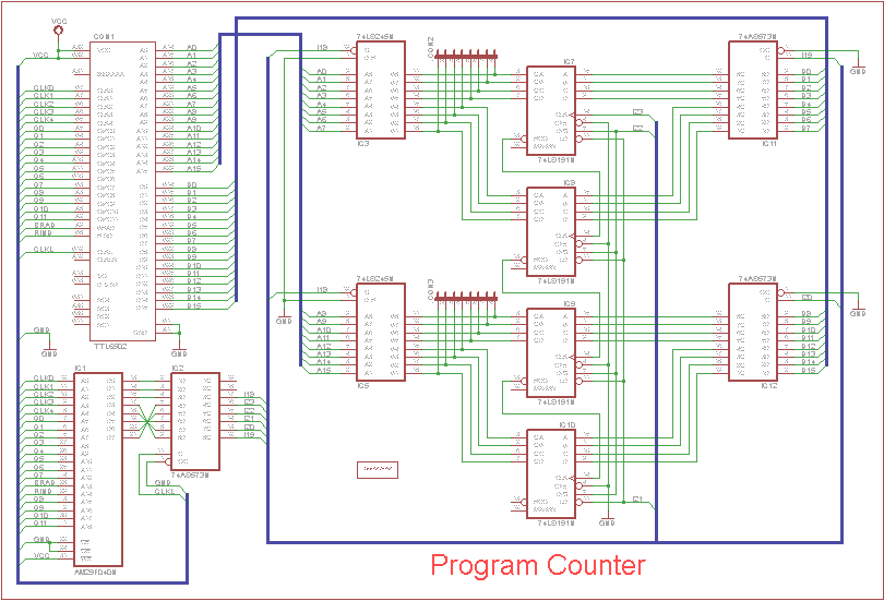 Ruud's Commodore Site: TTL6502: build your own 6502