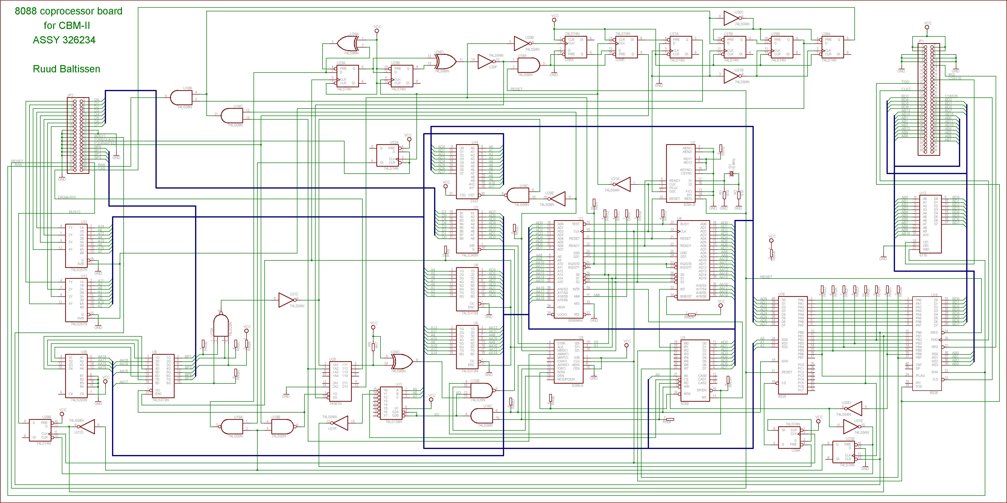 Ruuds Commodore Site Schematics Design